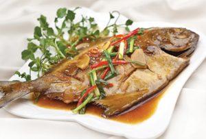 Món cá kho riềng thơm ngon nức mũi.
