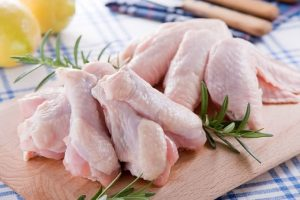 Những miếng cánh gà tươi ngon.